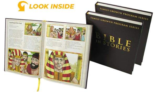 Look inside the Bible-In-Stories 3 Volume Set